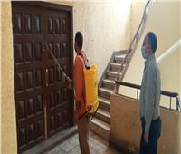تعقيم وتطهير رئاسة حي الأزبكية لمواجهة فيروس كورونا