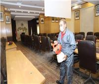 صور| تعقيم وتطهير مقر النقابة العامة للمحامين بشارع رمسيس