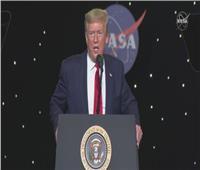 ماذا قال ترامب عن انطلاق أول رحلة أمريكية مأهولة للفضاء منذ 2011؟