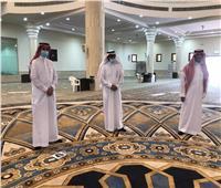 صور| محافظ الحريق يتجول بجامع الملك عبدالعزيز في أول يوم من افتتاحه للمصلين