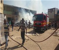 السيطرة على حريق بمصنع للمواد الغذائية في القليوبية