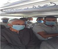 رئيس مدينة أيتاى البارود يُتابع التزام المواطنين والسائقين بارتداء الكمامة