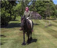صور| الظهور الأول لملكة بريطانيا منذ جائحة كورونا