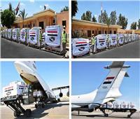 وصول طائرة المساعدات الطبية المقدمة من مصر للكونغو الديمقراطية وزامبيا