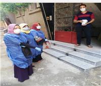 توزيع علاج كورونا على العزل المنزلي بمدينة سرس الليان في المنوفية