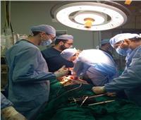 إنقاذ مصاب بطلق ناري بمستشفى الطوارئ بجامعة المنصورة