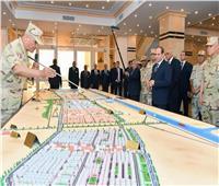 6 أعوام على حكم الرئيس| «السيسي» يطلق معركة التعمير والتنمية في سيناء