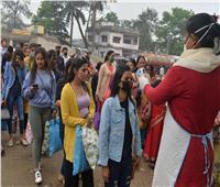 الهند تسجل 8171 إصابة جديدة بفيروس كورونا