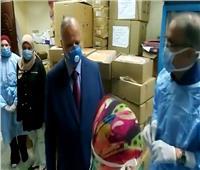 محافظ القاهرة في زيارة مفاجئة لمستشفى منشية البكري