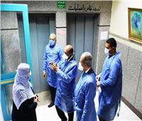 تشكيل لجنة للمرور الميداني على مستشفيات الفرز والعزل بأسوان