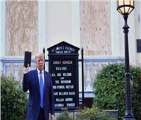 رجال دين ينتقدون «ترامب» بعد صورته المثيرة للجدل أمام كنيسة