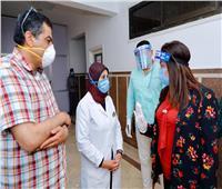محافظ دمياط تتفقد المستشفيات لمتابعة إجراءات التعامل مع أزمة فيروس كورونا