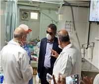 رئيس حي السيدة زينب يتفقد مستشفى المنيرة