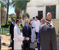 محافظ القاهرة يتفقد مستشفى صدر العباسية