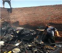 السيطرة على حريق بمنزل سكنى بالقليوبية.. صور