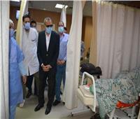 محافظ القليوبية يتفقد مستشفى التأمين الصحي للاطمئنان على الخدمة الصحية