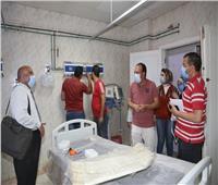 محافظة المنوفية: التأكد من استقبال حالات كورونا بالمستشفيات على مدار 24 ساعة