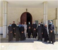 الأنبا باخوم يجتمع مع مجمع الأباء الكهنة بالإسكندرية