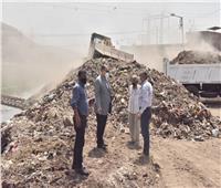 محافظ أسيوط يشرف على رفع 20 طن مخلفات بجوار ترعة الملاح