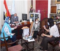 نائب محافظ الإسكندرية تستعرض آخر مستجدات مبادرة «دعمك حياة»