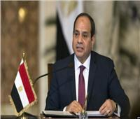السيسي: تحركات مصر في إطار الملف الليبي تهدف لإرساء دعائم الأمن والاستقرار