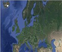 """من الفضاء.. كيف أثر """"إغلاق كورونا"""" على أوروبا"""