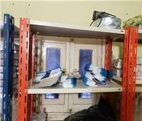 ضبط شقة بالمطرية لتصنيع المستلزمات الطبية المغشوشة