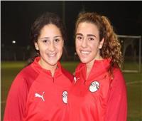سحر عبد الحق| لاعبات منتخب مصر المحترفات بأمريكا بخير