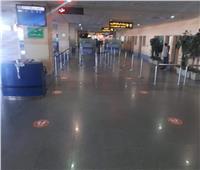 صور| مطار برج العرب يستعد لعودة حركة الطيران