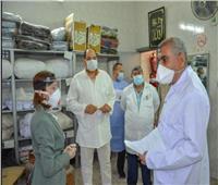 نائب محافظ الإسكندرية تتفقد مستشفى صدر المعمورة للوقوف على احتياجاتها للعزل