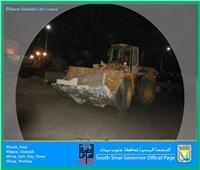 فتح عدة محاور بهضبة أم السيد بمدينة شرم الشيخ لزيادة السيولة المرورية