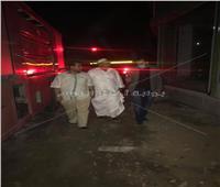 ننشر أسماء مصابي حريق سوق السيراميك بالمرج