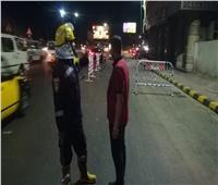 انهيار شرفة عقار بطريق كورنيش الإسكندرية دون إصابات