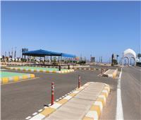 شرم الشيخ تواصل العمل ببعض المشروعات الجارية بالمدينة