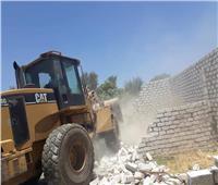 إزالة 194 حالة تعد على الأراضي الزراعية وأملاك الدولة بقنا