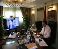 وزير التعليم العالي والسفير البيلاروسي يبحثان سبل التعاون المشترك