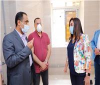 الانتهاء من تنفيذ 99 % من أعمال مبنى العيادات الخارجية والغسيل الكلوي بمستشفي دمياط العام