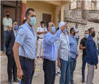 محافظ الإسكندرية يقود حملة مكبرة لإزالة العقارات المخالفة بأبي تلات بالعجمي