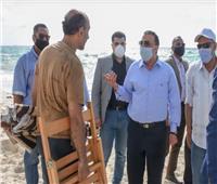محافظ الإسكندرية: جولات مفاجئة على الشواطئ وتغريم مخالفي الإغلاق