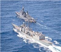 البحرية المصرية والإسبانية تنفذان تدريبًا بحريًا عابرًا بنطاق الأسطول الجنوبي
