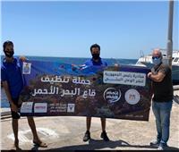 وزارة البيئة تنظم حملة نظافة تحت الماء بالبحر الأحمر