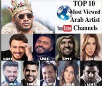 محمد رمضان على عرش قائمة «العشرة الكبار» على يوتيوب