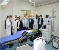 نائب محافظ الإسكندرية تفتتح غرفتي عمليات لمصابي كورونا بالحميات