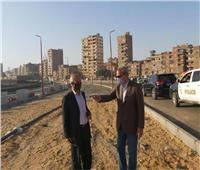 محافظ القليوبيةيتابع أعمال التطوير بمحور مصر الجديدة