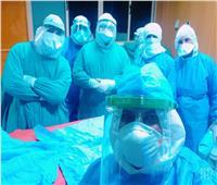 صور| فريق طبي ينجح في استئصال جلطة لمسن مصاب بكوفيد 19 بأسيوط