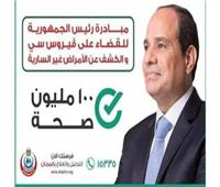 غدا .. إنطلاق مبادرة 100 مليون صحة للأمراض المزمنة بالإسكندرية