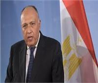 ردًا على إثيوبيا .. وزير الخارجية: مصرانخرطت في مفاوضات سد النهضة بحسن نية عقد كامل