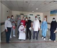 تعافي 3 حالات من كورونا بمستشفى قفط التعليمي بقنا