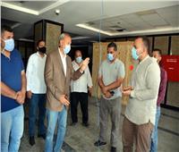 جولة مفاجئة لمحافظ القليوبية لمتابعة استعدادات تشغيل مستشفى كفر شكر
