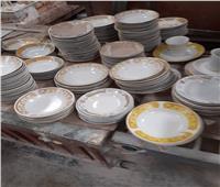 ضبط مصنع خزف صيني بدون ترخيص في الإسكندرية